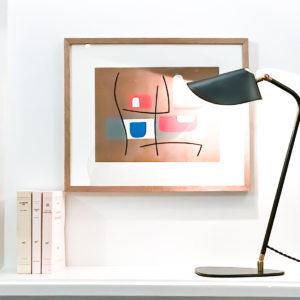 BEATO DESIGN LAMPE A POSER GALET INTERIEUR