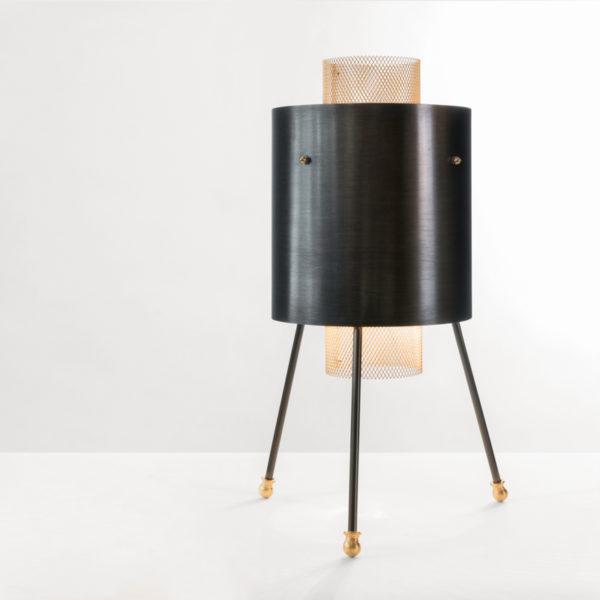 lampe à poser grillage création BEATO DESIGN