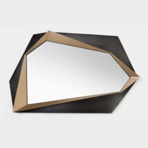Miroir Origami création sur-mesure par BEATO DESIGN